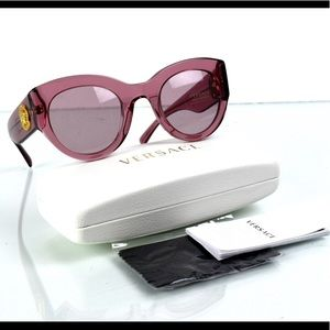 NWT Versace Tribute Collection Rose Sunglasses